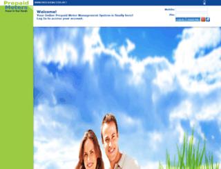 prepaidmeters.net screenshot