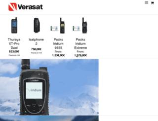 prepaidsatphone.fr screenshot