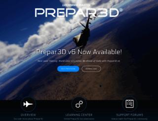 prepar3d.com screenshot