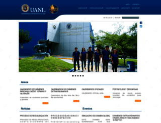 preparatoria23.uanl.mx screenshot