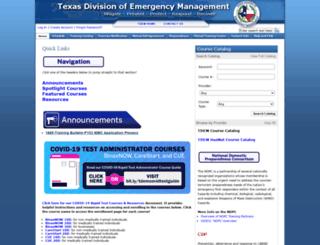 preparingtexas.org screenshot