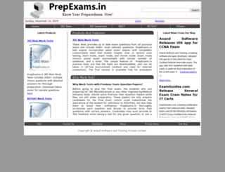 prepexams.in screenshot