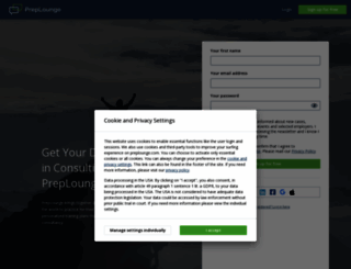 preplounge.com screenshot