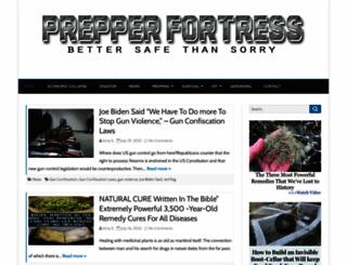 prepperfortress.com screenshot