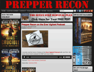 prepperrecon.com screenshot