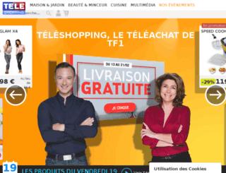 preprod.teleshopping.fr screenshot
