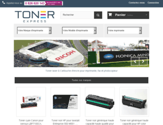 preprod.toner-express.com screenshot
