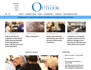 pres-outlook.org screenshot