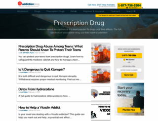 prescription-drug.addictionblog.org screenshot