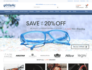 prescription-lenses.go-optic.com screenshot