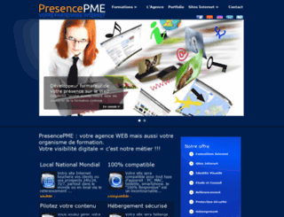 presencepme.com screenshot