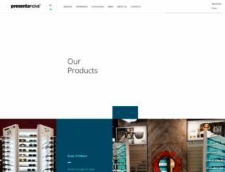 presenta-nova.com screenshot