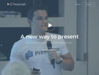 presentain.com screenshot