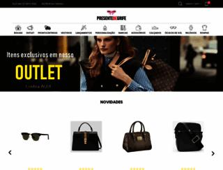 presentedegrife.com.br screenshot