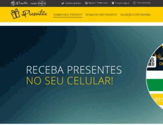 presenteieapp.com.br screenshot