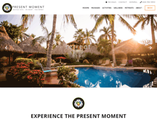 presentmomentretreat.com screenshot