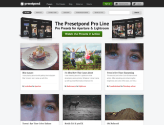 presetpond.com screenshot