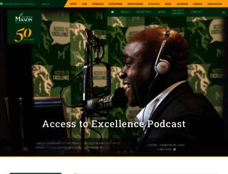 president.gmu.edu screenshot