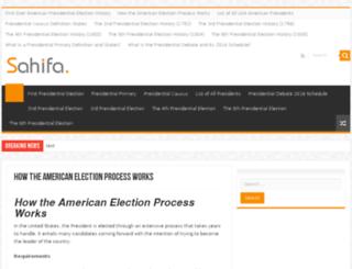 presidentialelectiondonaldtrump2016news.com screenshot