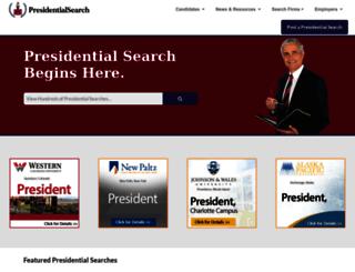 presidentsearch.com screenshot