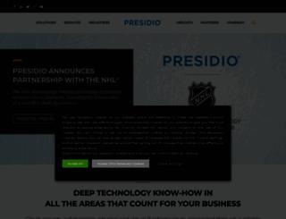 presidio.com screenshot
