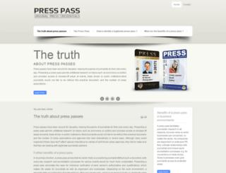 press-pass.us screenshot
