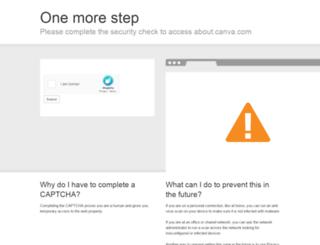press.canva.com screenshot