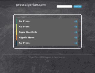 pressalgerian.com screenshot