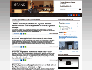 presse.bforbank.com screenshot
