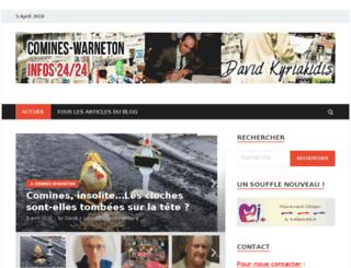 presse.david-kyriakidis.be screenshot
