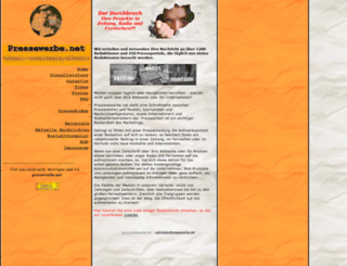 pressewerbe.net screenshot