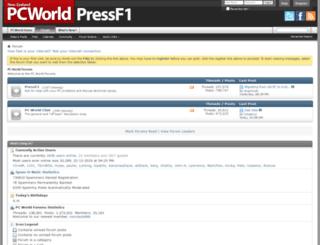 pressf1.co.nz screenshot