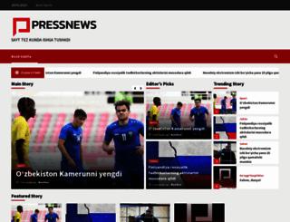 pressnews.uz screenshot