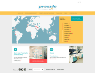 pressto.com screenshot