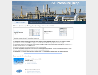 pressure-drop.com screenshot