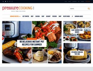 pressurecookingtoday.com screenshot