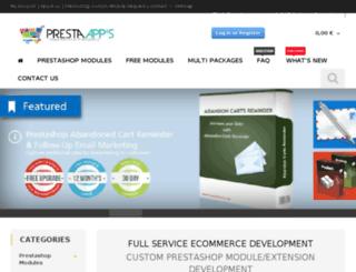 presta-apps.com screenshot