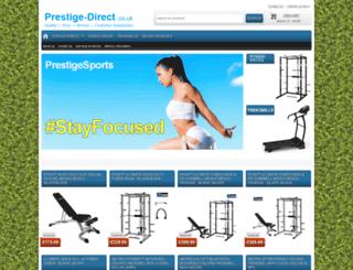 prestige-direct.co.uk screenshot