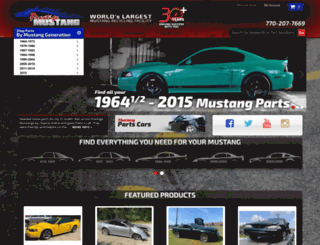 prestigemustang.com screenshot