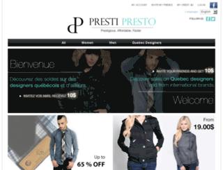 prestipresto.com screenshot