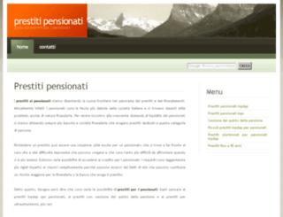 prestitipensionati.org screenshot