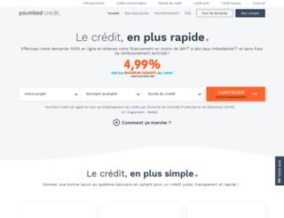 pret-dunion.fr screenshot