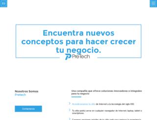 pretechmobile.com screenshot
