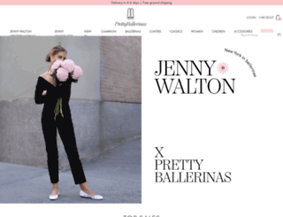 prettyballerinas.com screenshot