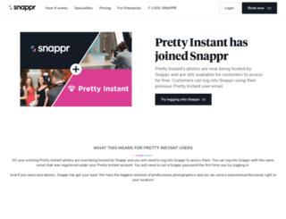 prettyinstant.com screenshot