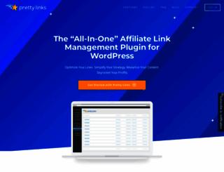 prettylinkpro.com screenshot