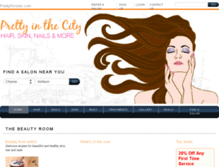 prettytoronto.com screenshot