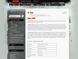 preturimateriale.wordpress.com screenshot