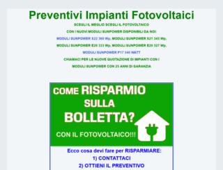 preventivi-impianti-fotovoltaici.it screenshot