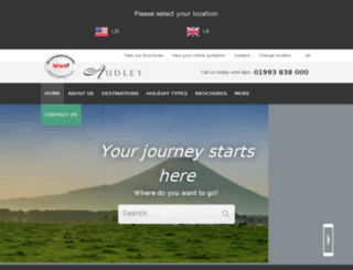 preview.audleytravel.com screenshot